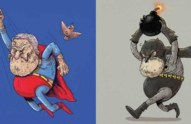 EXCLU : Les super-héros vieillissent ! 5