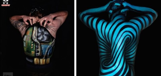 ART : Body painting et illusions d'optiques 17
