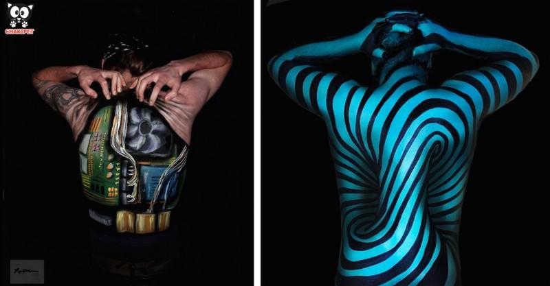ART : Body painting et illusions d'optiques 17