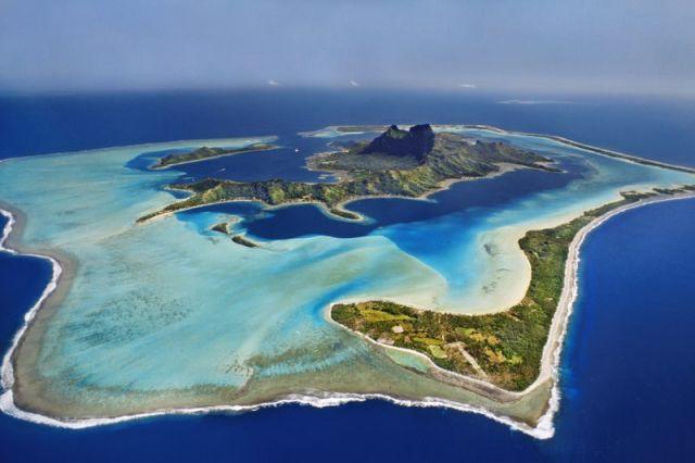 Bora Bora. Polynésie