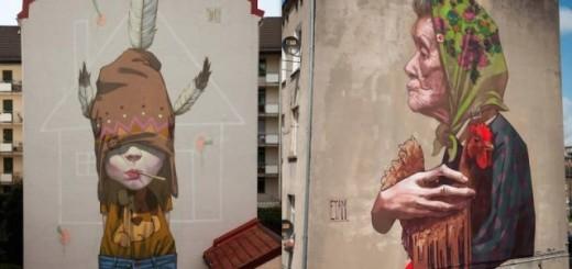 Les superbes fresques murales d'ETAM CRU 17