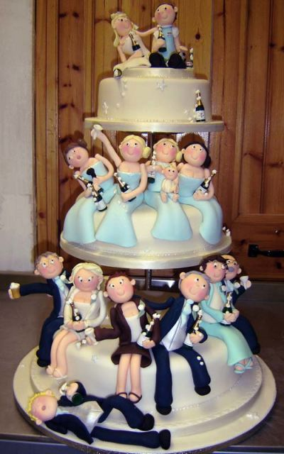 funny wedding cake designs 20 g 226 teaux extraordinaires 224 croquer 14567