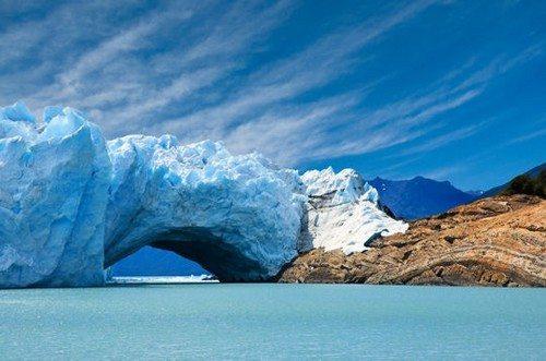Glacier perito moreno. Argentine