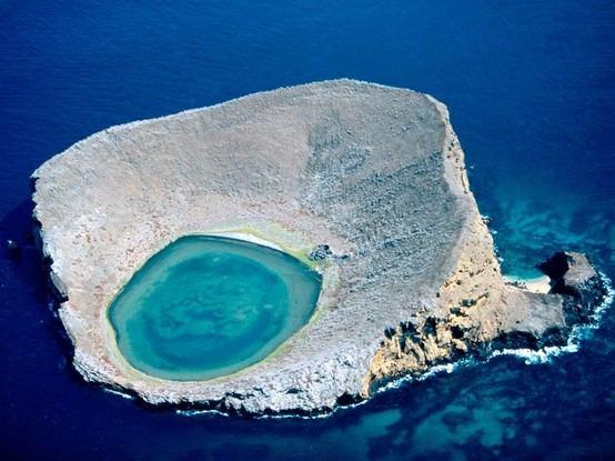 Lagon bleu. Equateur