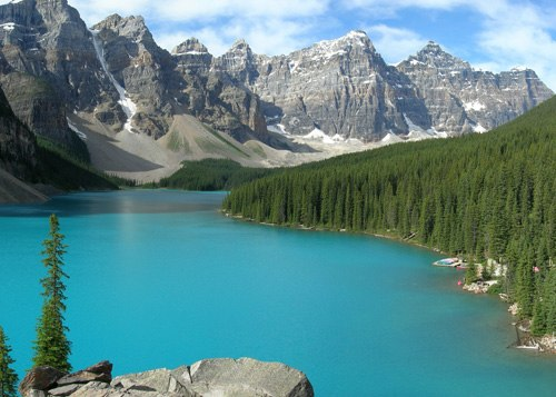 Parc national de banff.Canada
