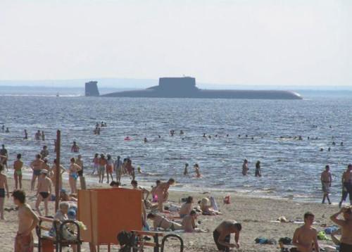 INSOLITE : Pendant ce temps, en Russie...