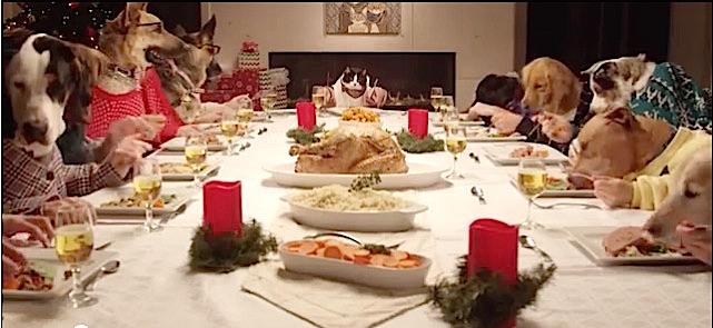 Un repas de Noël un peu particulier