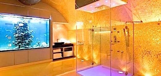20 salles de bains aux styles atypiques 18
