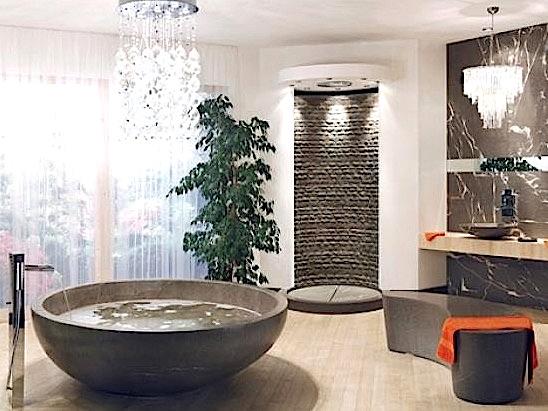 20 salles de bains aux styles atypiques