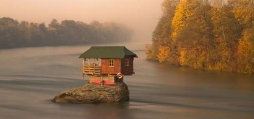 Des maisons seules au monde. 10