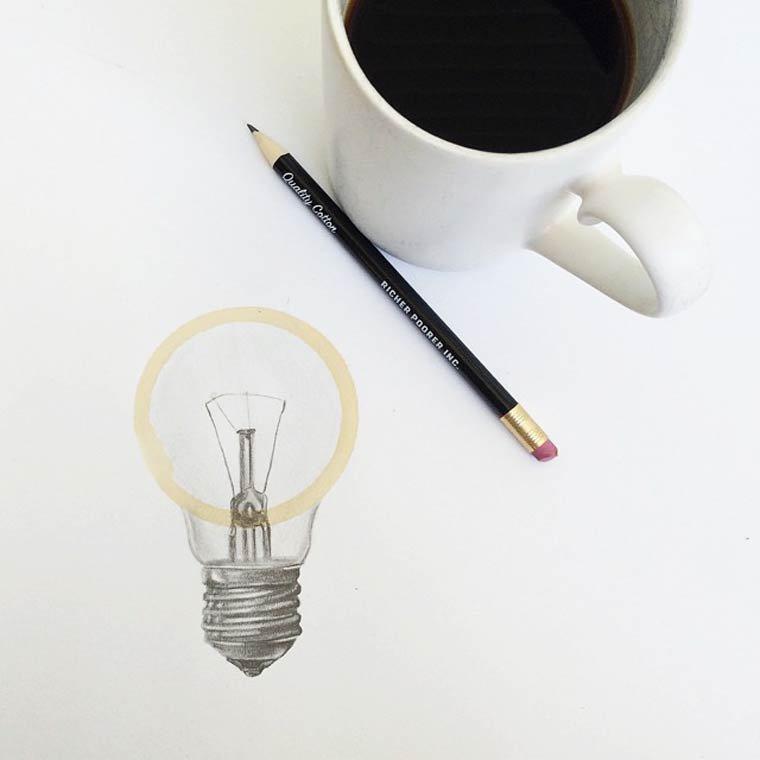Tâche de café11