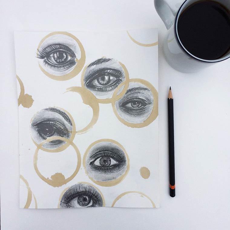 Tâche de café12