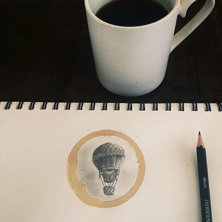 Tâche de café14