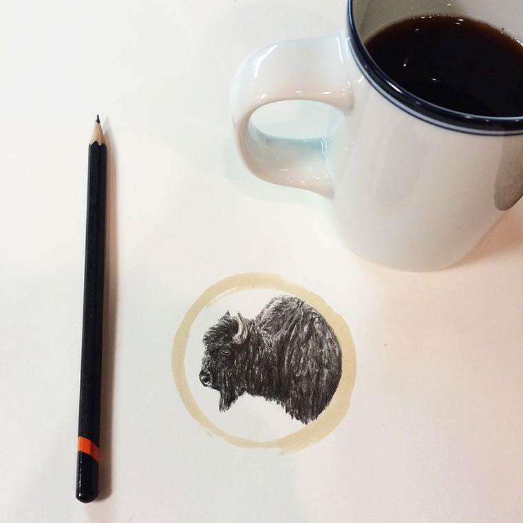 Tâche de café18