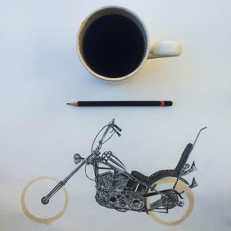 Tâche de café3