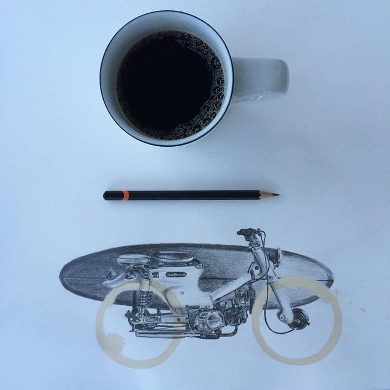 Tâche de café