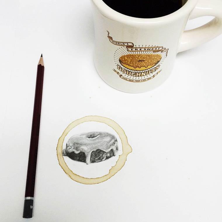 Tâche de café9