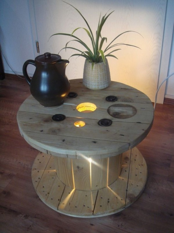 Incroyable Table Avec Un Touret #12: Table Basse18