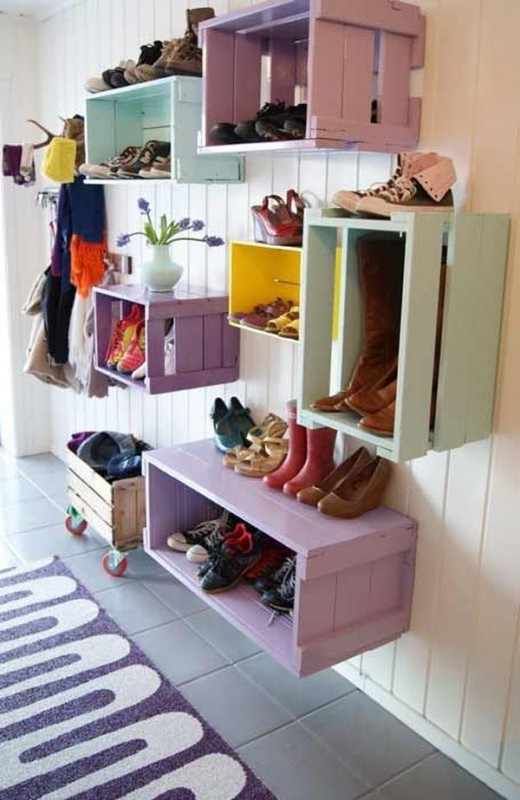 Idee amenagement entree - Menuiserie