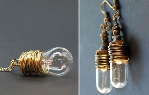 décoration avec ampoules