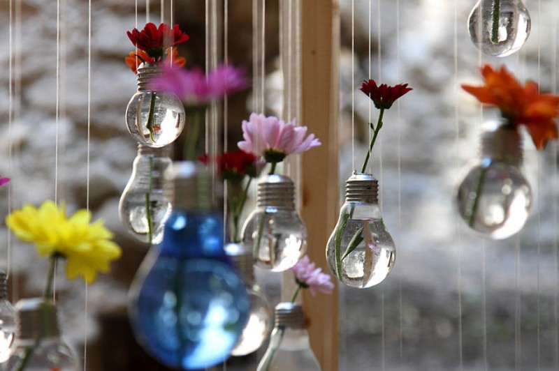 Comment recycler les ampoules en objet du quotidien 13