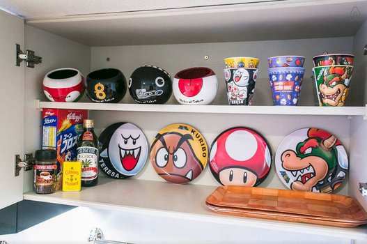 Un incroyable appartement dédié à Super Mario Bros 9