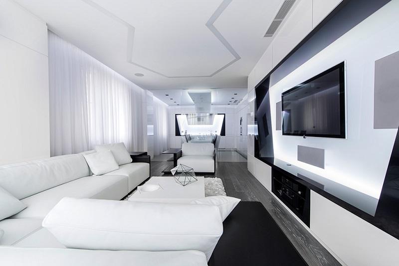 Design Visitez Cet Appartement Futuriste