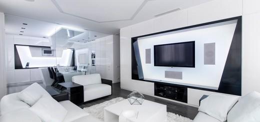 DESIGN : visitez cet appartement futuriste 17