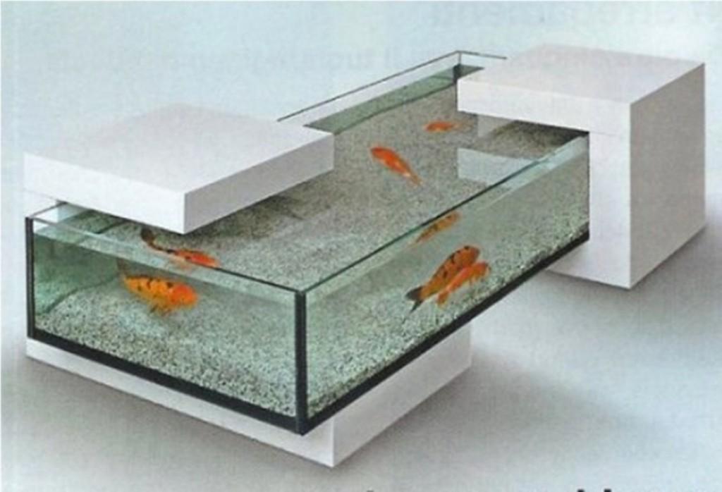 15 aquariums atypiques des d corations magnifiques - Table basse aquarium jardiland ...