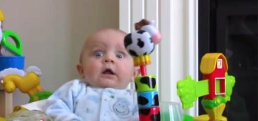 Un bébé a une réaction qui n'a pas de prix