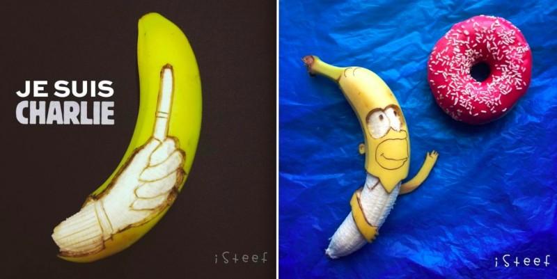 ART : Cet artiste utilise la banane pour exprimer sa créativité 21