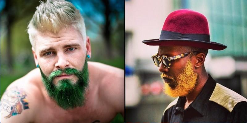 Teindre sa barbe en FLUO : la nouvelle tendance ! 15