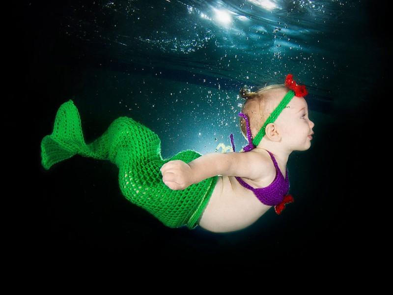 bebe sous l'eau 3
