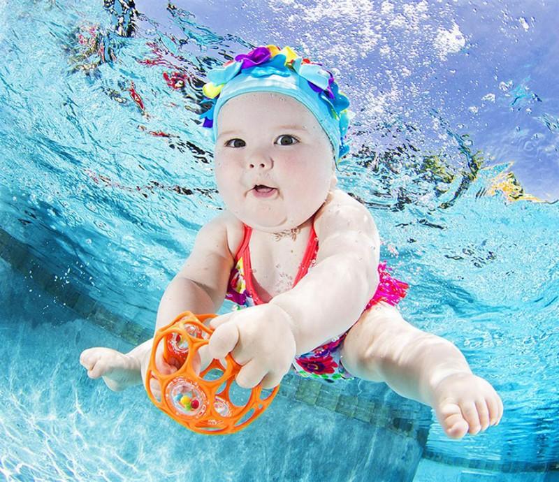 bebe sous l'eau 4