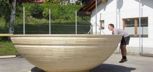 Le plus grand bol en bois. 2