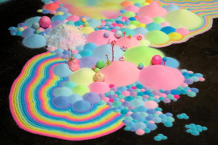 Candyland: l'univers artistique des bonbons 1