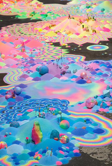 Candyland: l'univers artistique des bonbons 12