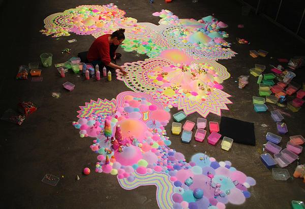 Candyland: l'univers artistique des bonbons 13