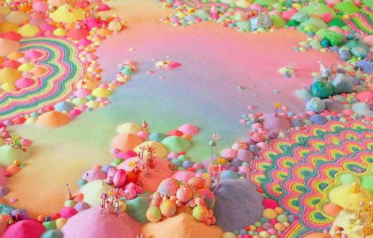 Candyland: l'univers artistique des bonbons 14