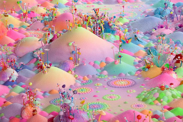 Candyland: l'univers artistique des bonbons 15