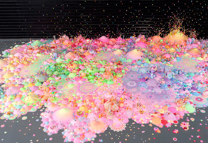 Candyland: l'univers artistique des bonbons 5