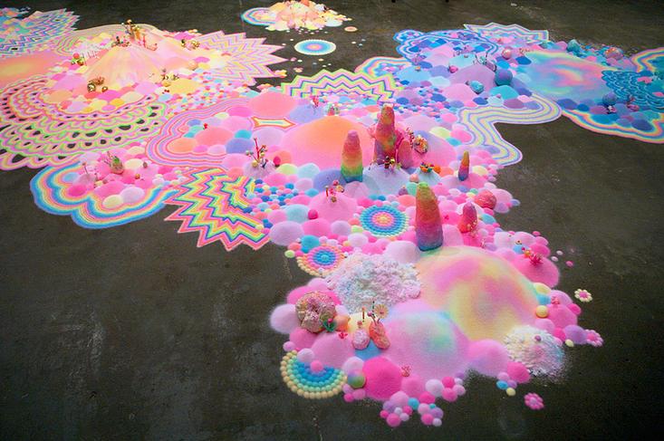 Candyland: l'univers artistique des bonbons 6
