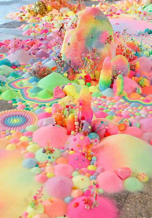 Candyland: l'univers artistique des bonbons 8