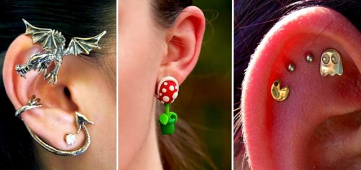 18 boucles d'oreilles créatives pour les filles originales 21