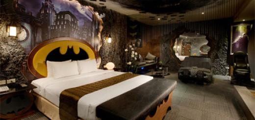 Il est maintenant possible de dormir dans la chambre de Batman 2