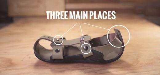 Des sandales ajustables pour aider des millions d'enfants pauvres 4