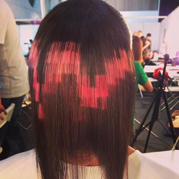 cheveux pixel2