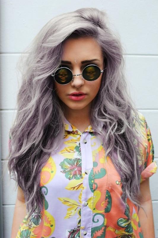 Fabuleux Mode et Tendance : Les cheveux gris reviennent à la mode. PL59
