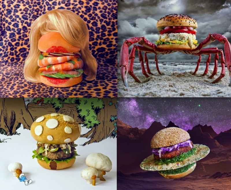 Des burgers créatifs au design très original ! 22