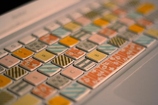 DECO : égayez votre intérieur avec de simples rouleaux adhésifs colorés 18